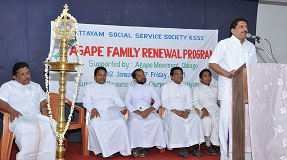 Family Renewal Program by KSSS and Agape Movement