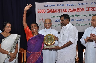 First Samaritan Award to Dayabhai